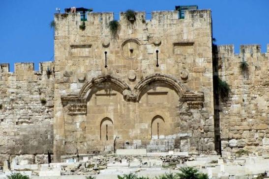 Gerusalemme, porta d'oro