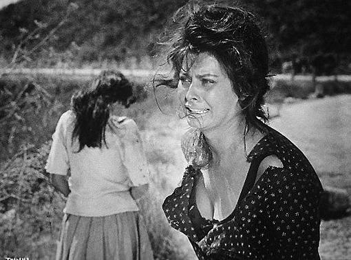 La Ciociara, con Sofia Loren