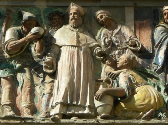 Filippo di Lorenzo Paladini, dar da bere agli assetati