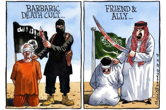 Peter Brookes per The Times