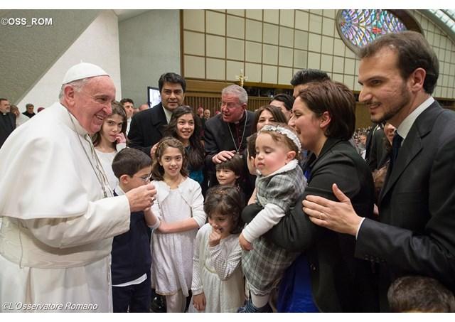 Cammino Neocatecumenale, il Papa invia 250 famiglie in missione.