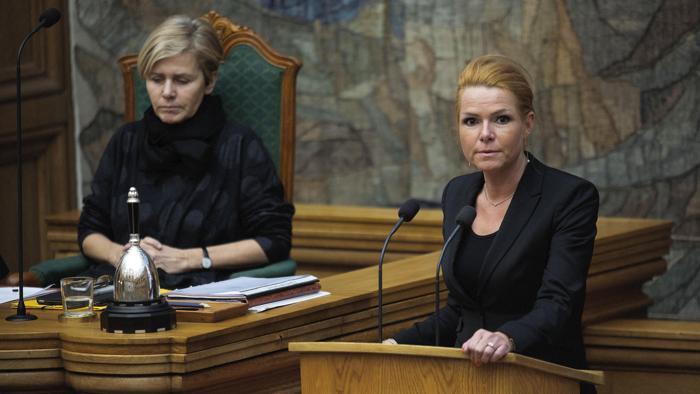 Danimarca, Il ministro per l'Integrazione Inger Stoejberg