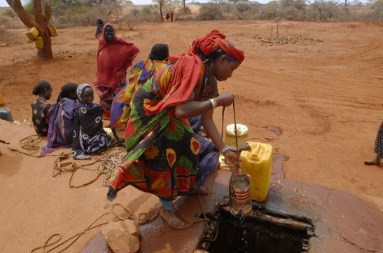 El Niño – millions of poor people threatened with hunger and destitution.