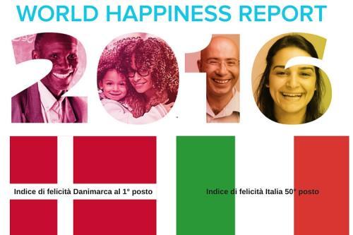 Indice di felicità, Italia al 50esimo posto