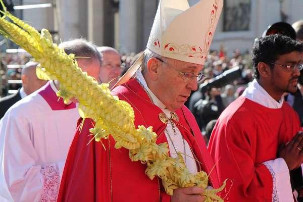Palm Sunday - pope