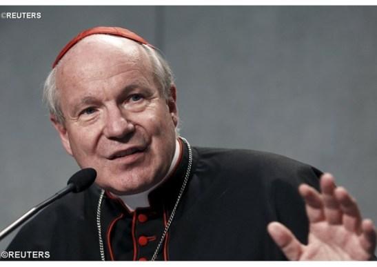 Le cardinal Christoph Schönborn, archevêque de Vienne (Autriche). - REUTERS