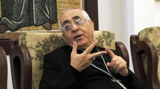 Bishop Lahham (photo from Vatican Radio)
