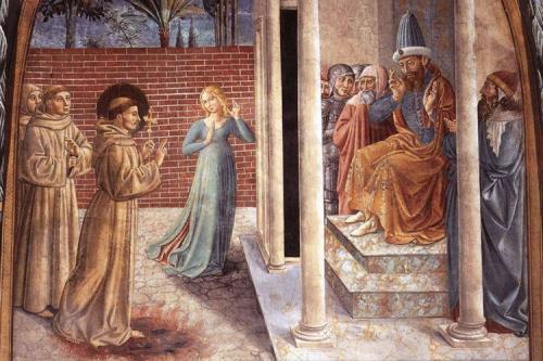 Anche san Francesco diceva parolacce, ma al diavolo
