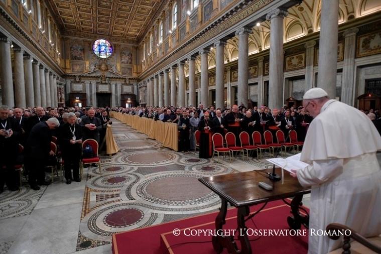 Giubileo dei sacerdoti, Seconda meditazione di papa Francesco2