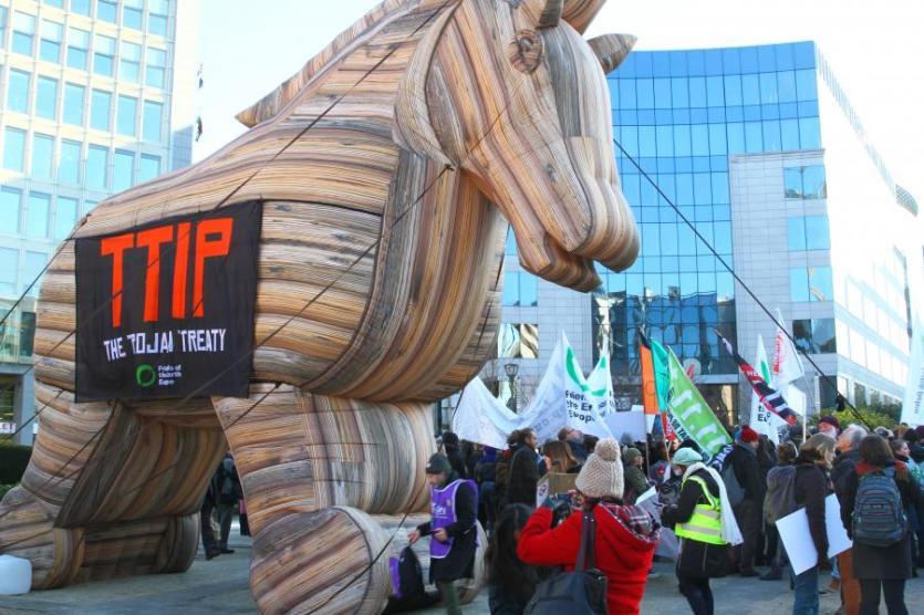 TTIP, Un 'Cabalo de Troia'