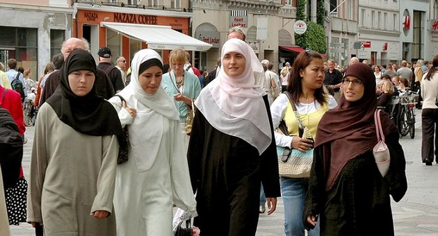 How large is the Muslim population in Europe and how fast is it growing