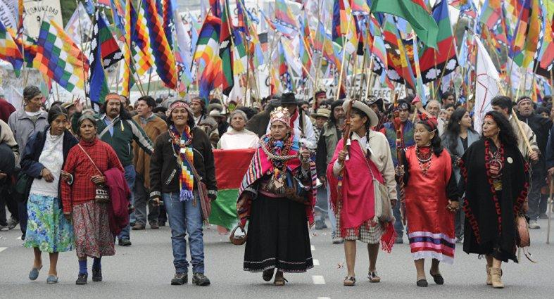 indígenas en Latinoamérica