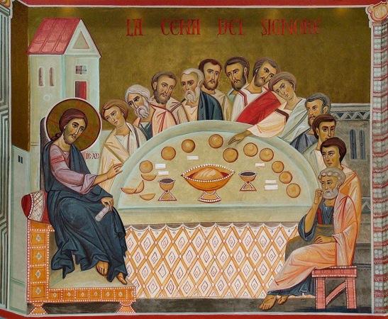L'Eucaristia — il Sacrificio di lode e di ringraziamento — è il focolare sempre acceso della conoscenza di Di.jpg