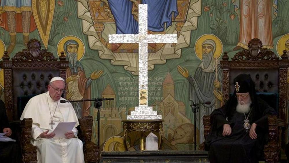Francis with Patriarch Ilia..jpg
