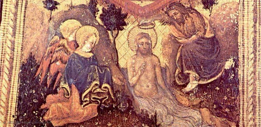 Particolare del piviale di san Nicola raffigurato da Gentile da Fabriano nel Polittico Quaratesi, 1425..jpg
