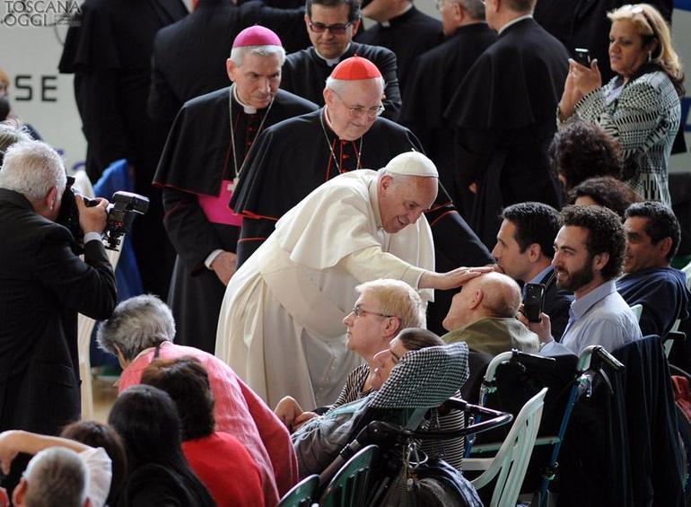 Messaggio del Papa per la XXV Giornata Mondiale del Malato 2017.jpg
