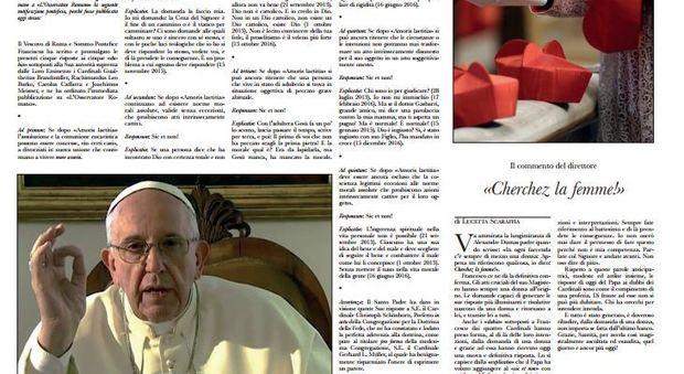 Torna la fronda anti-Papa con un falso Osservatore.jpg
