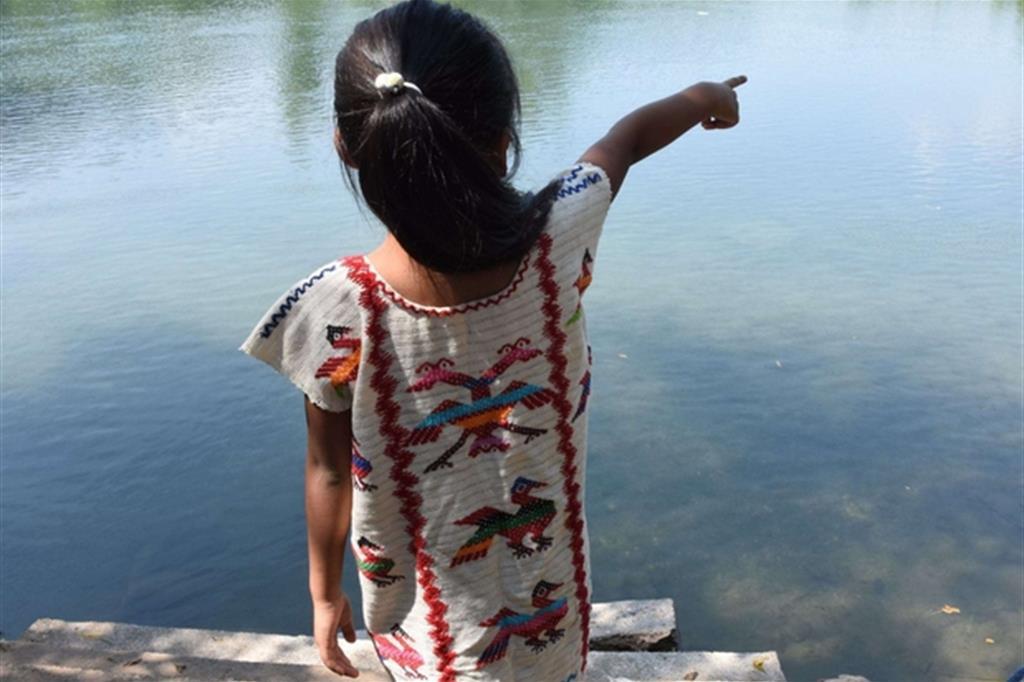 L'aquila ricorda il mito della fondazione del popolo chinanteco.jpg