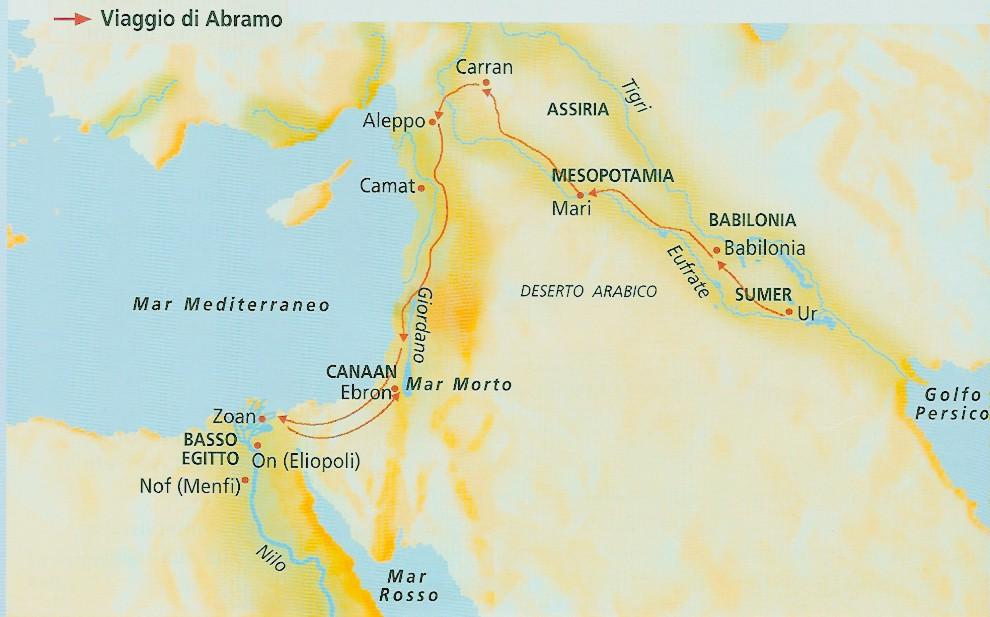 pellegrinaggio di Abramo