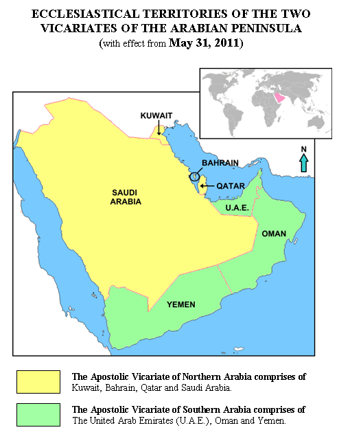 Arabia 2 vicariati