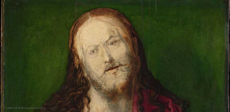 Albrecht Dürer, Salvator Mundi (incompleto), 1505 circa, olio
