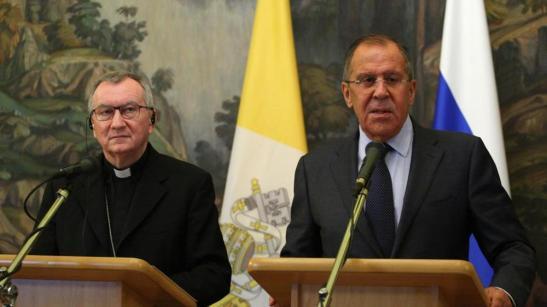 Parolin e Lavrov, la Russia e il Vaticano insieme contro le crisi globali