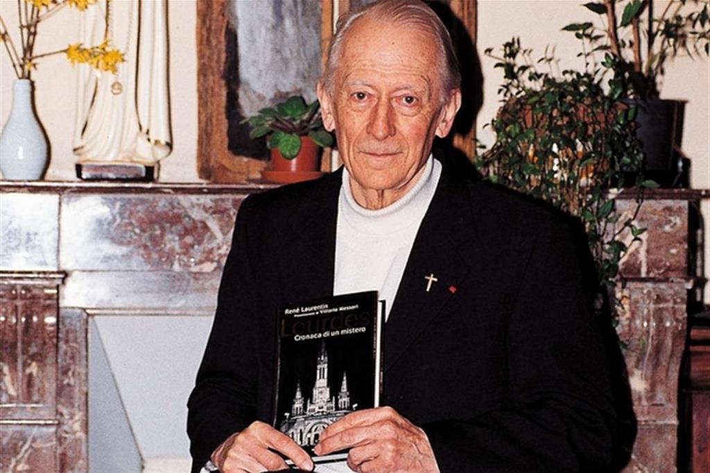 Il mariologo René Laurentin