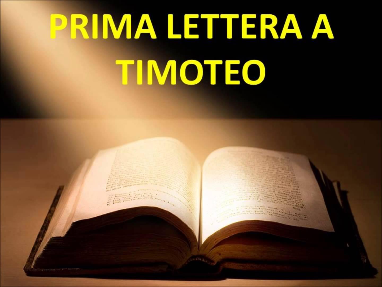 Prima lettera a Timòteo (4)