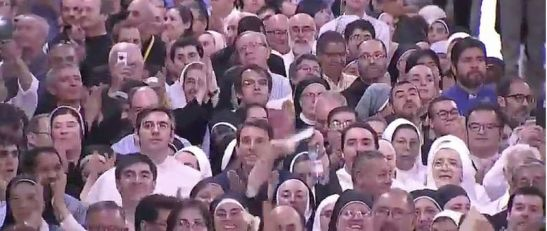 los-religiosos-con-el-papa
