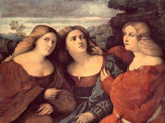 tre tristi sorelle