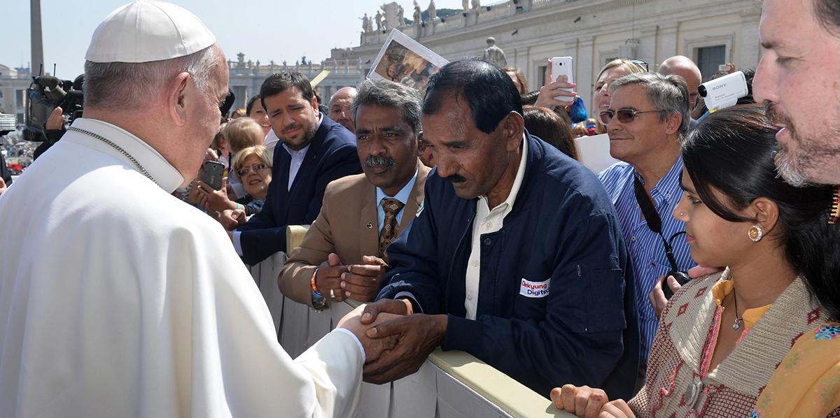 Pakistan : la famille d'Asia Bibi rencontre le pape