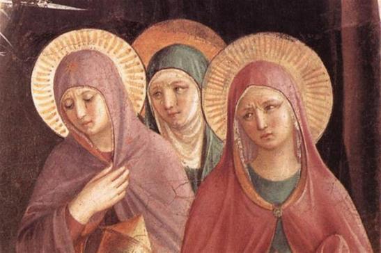 Il corpo di Cristo, le donne, l'attesa. Il giardino del Sabato Santo