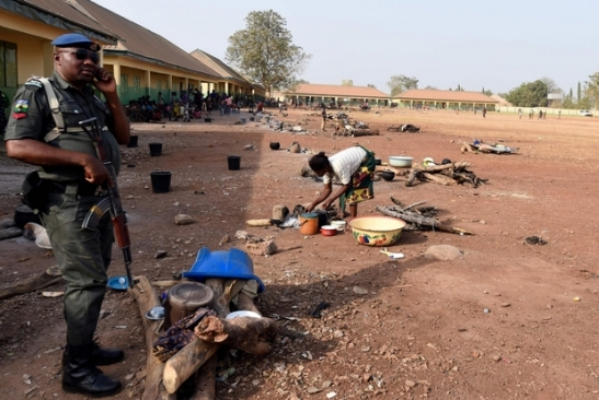 Violenza in Nigeria. Militari schierati a difesa dei civili nel Benue.jpg