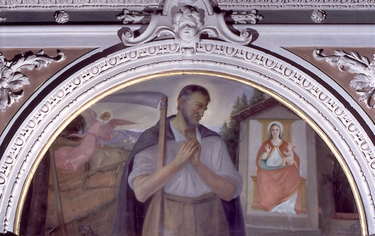 Beato Alberto da Villa d'Ogna davanti all'immagine della Madonna dei Campi.jpg