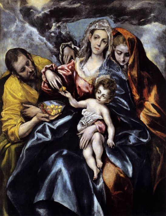 El Greco, The Holy Family with Mary Magdalen