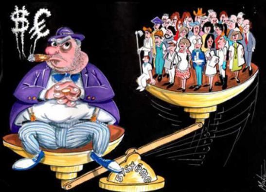 ricos e pobres