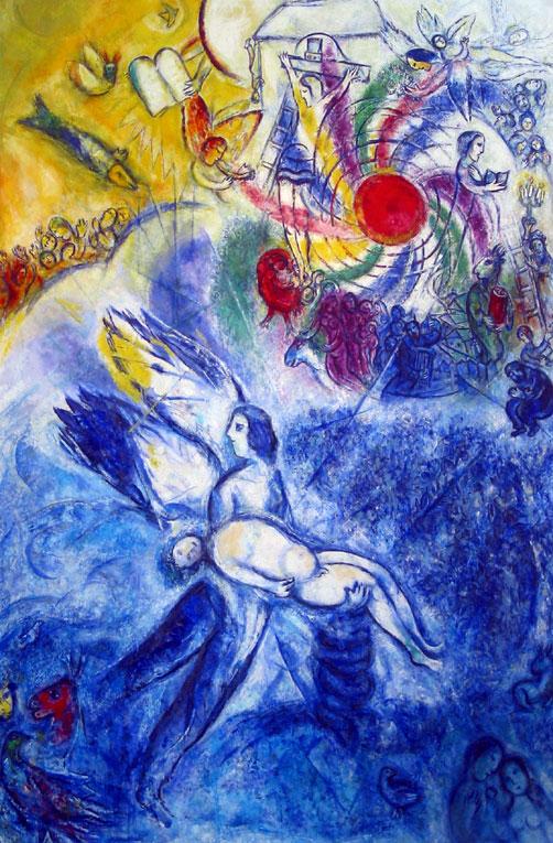 Chagall_Die-Erschaffung-des-Menschen