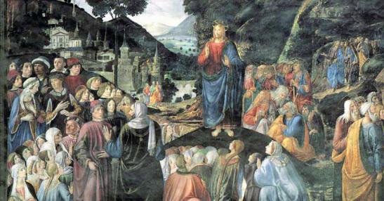 Cosimo Rosselli, «Il Discorso della montagna», 1482,.jpg