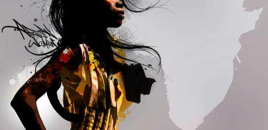 donna africana rappresentata dall'artista digitale epoq.png