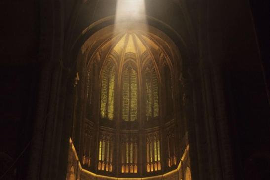 L'abbazia di Mont-Saint-Michel, in Francia