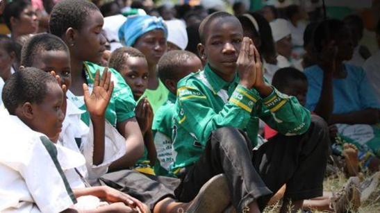 ragazzi africani