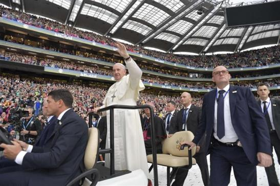 Papa a Dublino