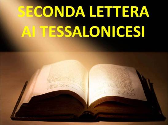 Seconda Lettera ai Tessalonicesi