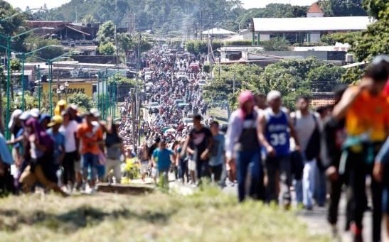 """HONDURAS - I Vescovi e la """"tragedia umana"""" della carovana"""