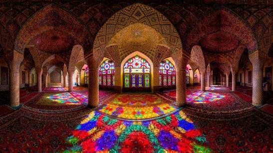 moschea di Nasir al-Mulk, a Shiraz
