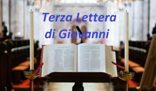 Terza Lettera di Giovanni