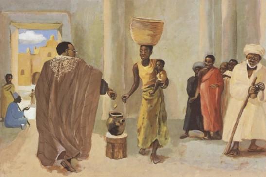 The Widow's Mite - Luke 21:1-4