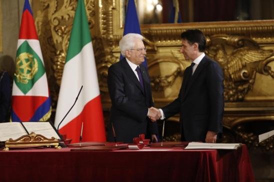 3 - Giuramento Giuseppe Conte