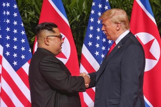 6 - Incontro Trump-Kim Saul LoebAFPGetty Images Giugno 18