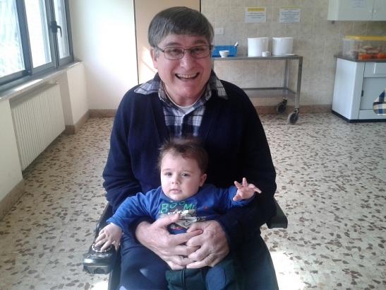 Roma 2014, con il piccolo Manuel